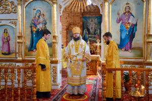 Епископ Мелетий посетил с архипастырским визитом поселок Хиславичи